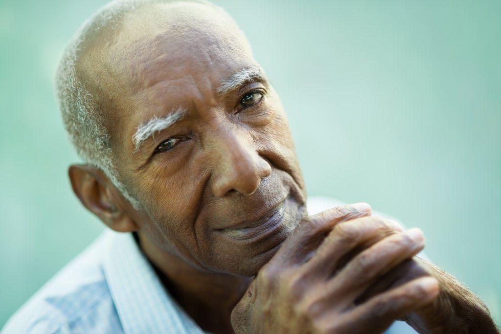 Elderly Black Man NCEA Survey: 44 Percen...