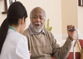 Nursing home resident & staff